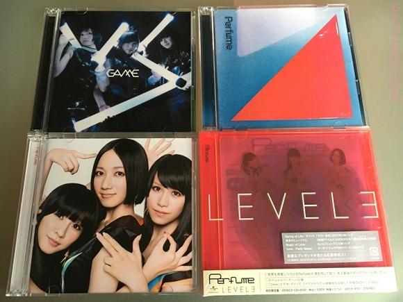 歴代Perfumeアルバム