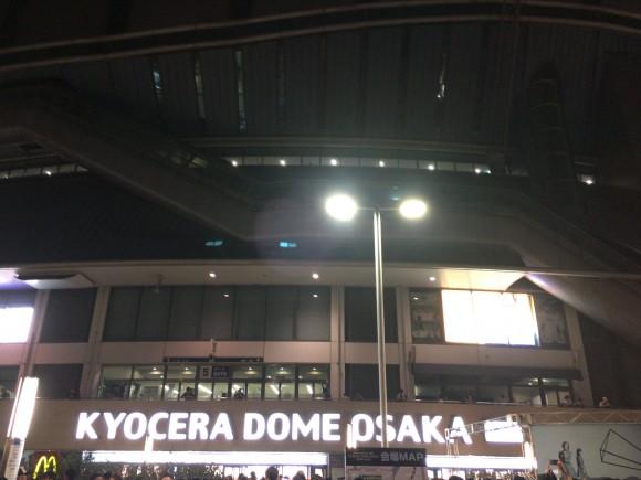京セラドーム 夜